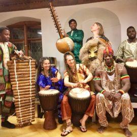 """Rythme African"" als Abschlusskonzert"