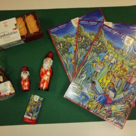 Leckere Adventskalender und Nikoläuse