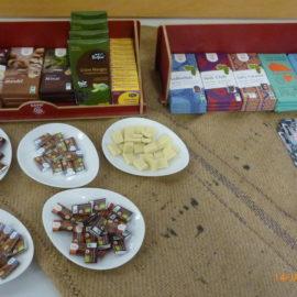 Informativer Vortrag über Kakao und Schokolade