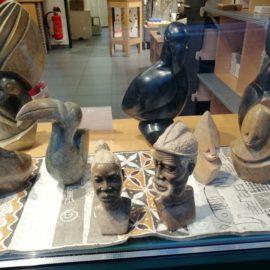 Vielfältige Skulpturen aus Zimbabwe