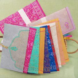 Handgeschöpftes Papier aus Nepal und Indien