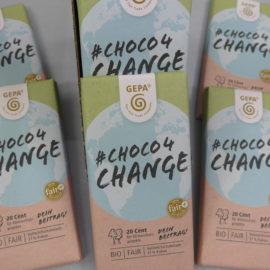 Klimaschutz mit Schokolade
