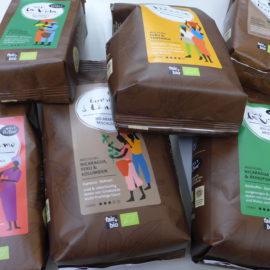 Neue Kaffeesorten in schmucker Verpackung