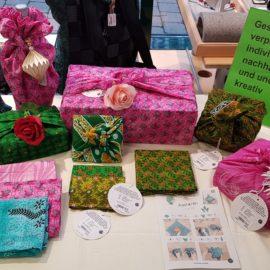 Geschenke elegant und  ohne Plastik verpacken