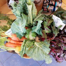 Neu im Weltladen: Rote Bete, Karotten und Blumenkohl