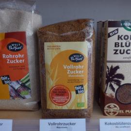 Kleine Warenkunde:  Vollrohrzucker und Rohrohrzucker