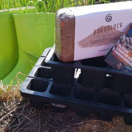 Saatgutschalen aus Natur-Kautschuk
