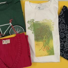 Tolle T-Shirts mit vielen Farben und Mustern