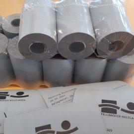Papier-Kassenbon und E-Mail-Bon im CO2-Vergleich