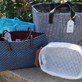 Madras Carry macht aus Trinkflaschen bunte Taschen