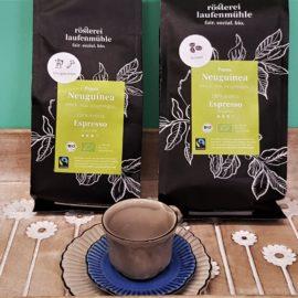 Kaffee und Espresso aus einer inklusiven Rösterei