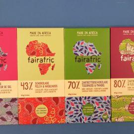 Fairafric – eine ganz besondere Schokolade